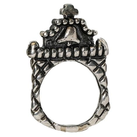 Silver Mission Bell Ring