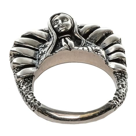 Silver Virgin Stacker Ring