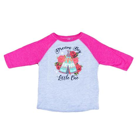 Rodeo Quincy Toddler Dream Big Little One Tee