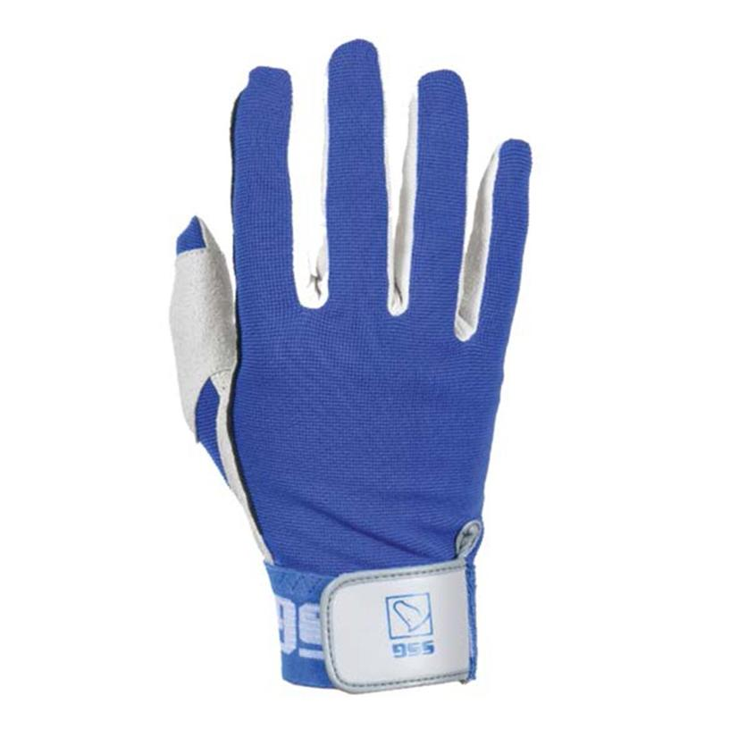Deluxe Team Roping Glove BLUE