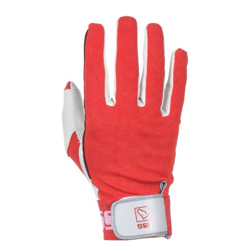 Deluxe Team Roping Glove RED