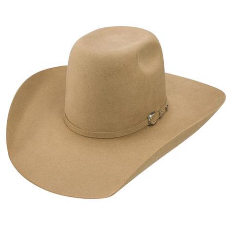 Resistol 3x Pay Window Pecan Wool 4.25in Brim Cowboy Hat