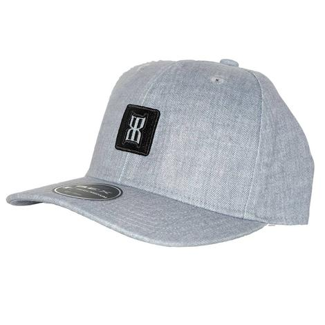 Bex Invert Grey Black Patch Cap
