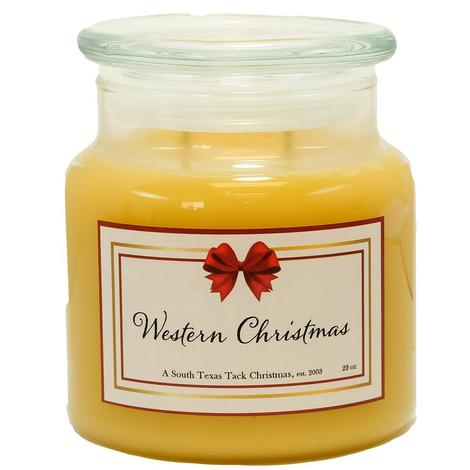 STT Western Christmas Candle 22oz