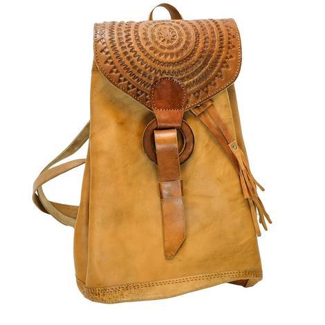 Amelia Leather Backpack