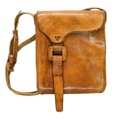 Crossbody Leather Satchel