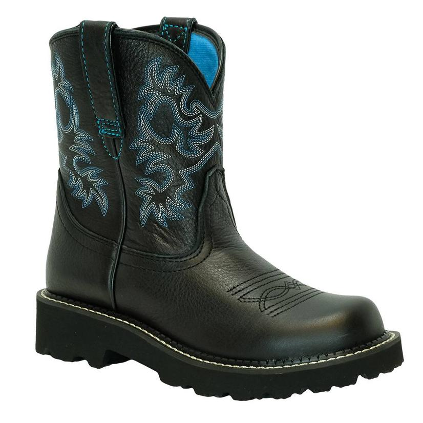 Ariat Fat Baby Black Deertan Women's Boots