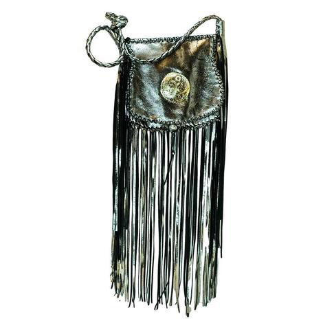 Silver Fringe Bag