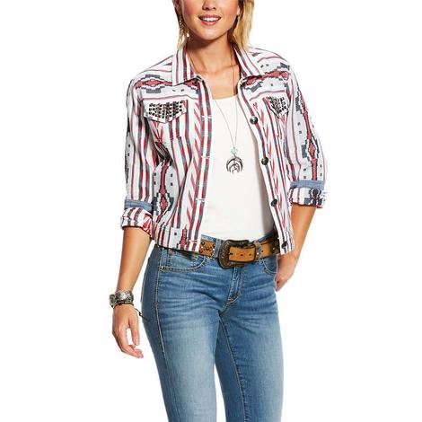 Ariat Aztec Stripe Women's Button Jacket