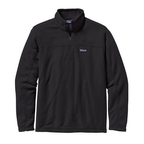 Patagonia Micro D Fleece Men's Long Sleeve Jacket - Black or Navy Blue