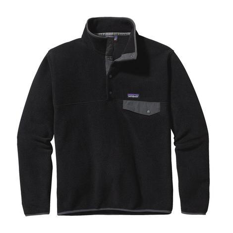 Patagonia Lightweight Men's Black Grey SnapT Pullover