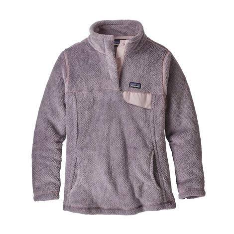 Patagonia Re-Tool SnapT Girl's Pullover in Smokey Violet