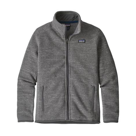 Patagonia Boy's Better Sweater Jacket Stonewash