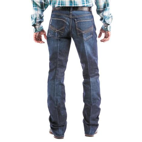 Cinch Ian Dark Wash Mid Rise Slim Bootcut Men's Jeans