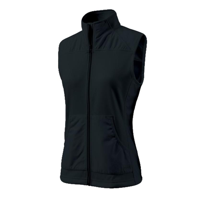 Breeze Zip Women's Vest - Black Or White