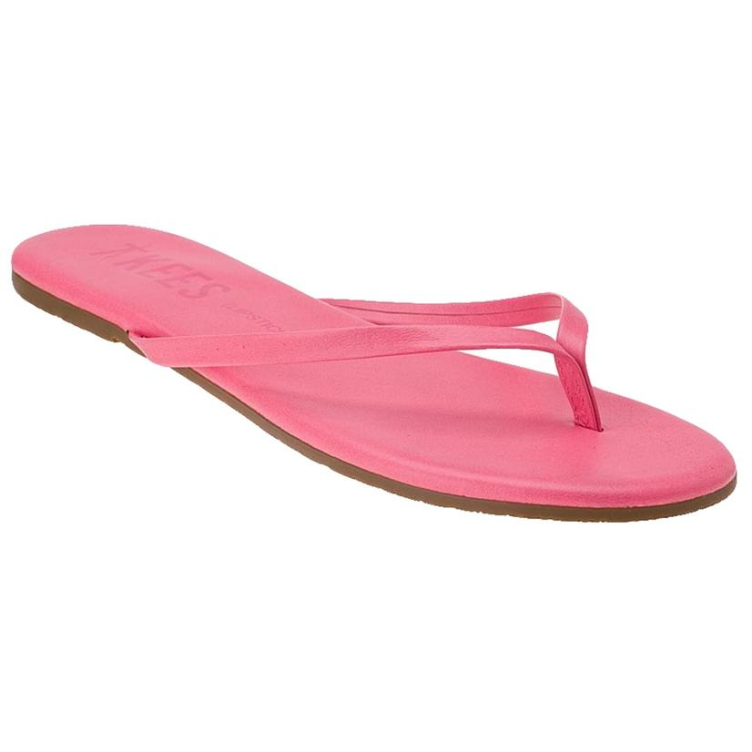 TKEES Women's Flip Flops STRAWBERRY