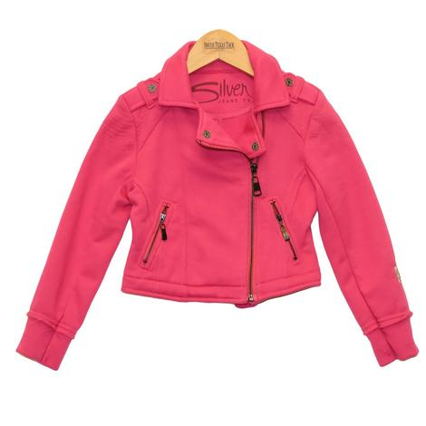 Pink Moto Jacket for Girls