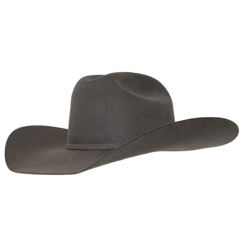 Rodeo King Low Rodeo Slate Felt Cowboy Hat - 4.25in Brim