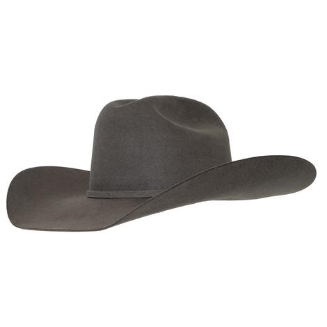 Rodeo King Low Rodeo Slate Felt Cowboy Hat - 4.25in Brim