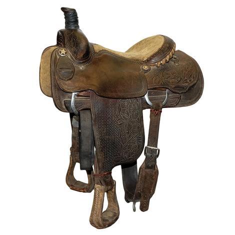 Martin Saddlery Used 14.5inch Team Roping Saddle