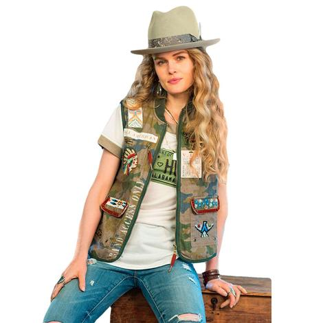 Double D Ranch Apparel Camouflage Backstage Vest