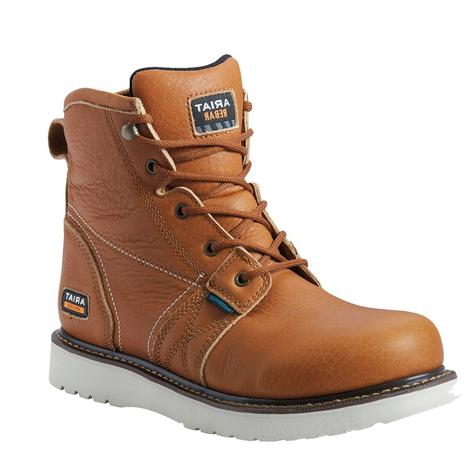Ariat Rebar Wedge H20 Waterproof Soft Toe Men's Laceup Workboots
