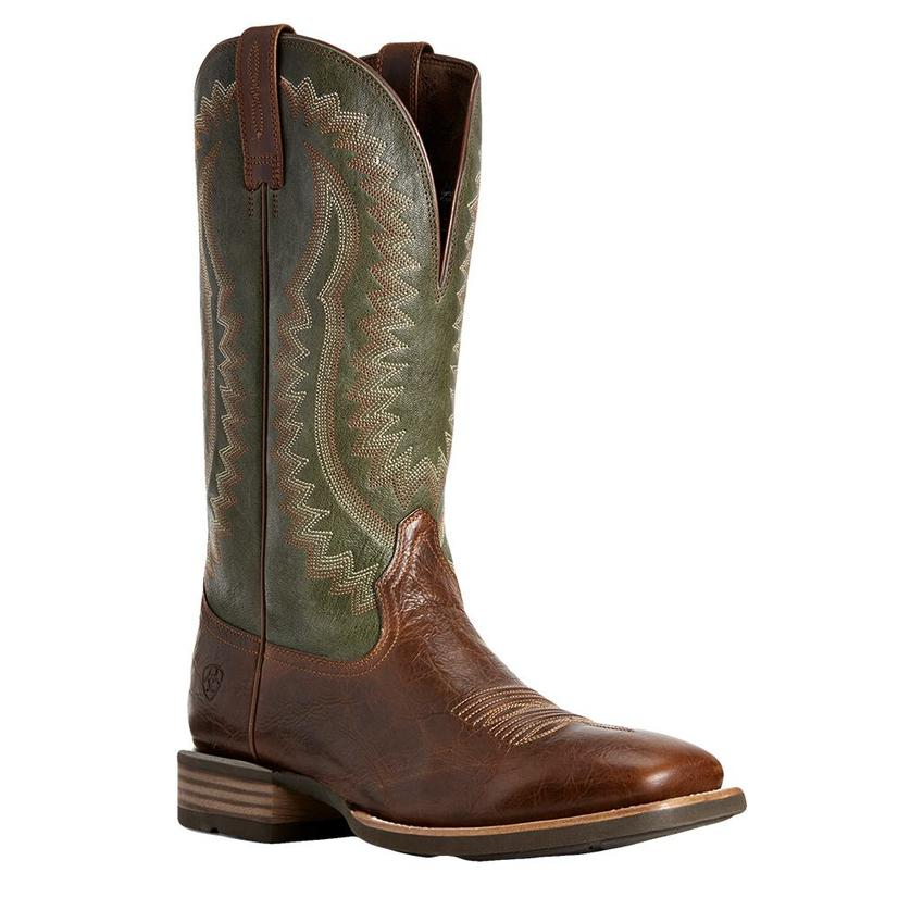 Ariat Shamrock Green Tall Top Men's Boots