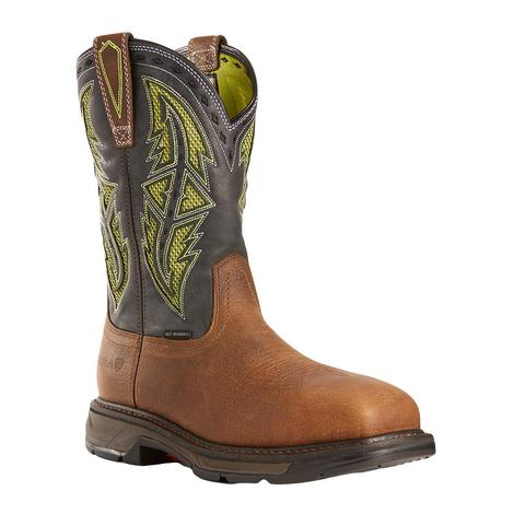 Ariat Workhog XT VentTEK Spear Saftey Toe Men's Workboots