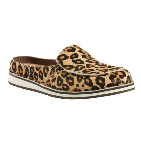 Ariat Leopard Hair on Hide Cruiser Slide Women's Shoes