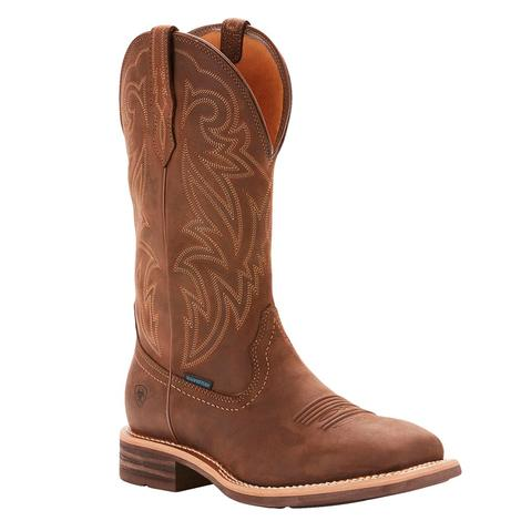 Ariat Tombstone H2O Oily Distressed Brown Men's Boots