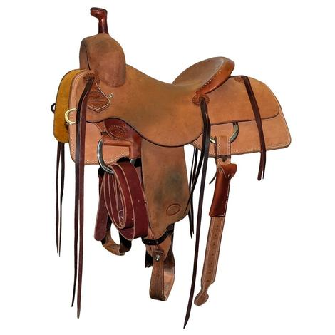 STT Ranch Cutter 14in Roughout Used Saddle
