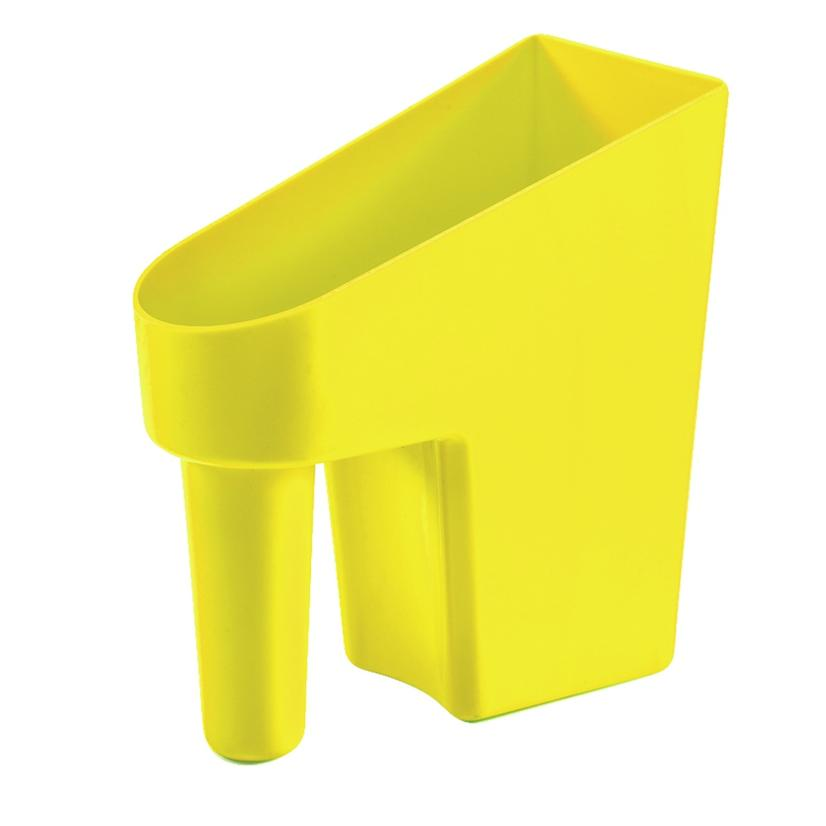 Feed Scoop 1 Quart Assorted Colors FL._YELLOW