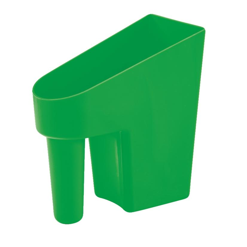 Feed Scoop 1 Quart Assorted Colors LIME_GREEN