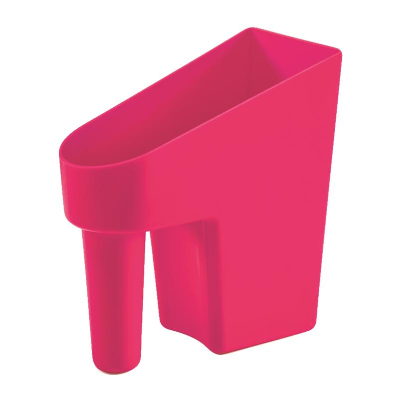 Feed Scoop 1 Quart Assorted Colors PINK