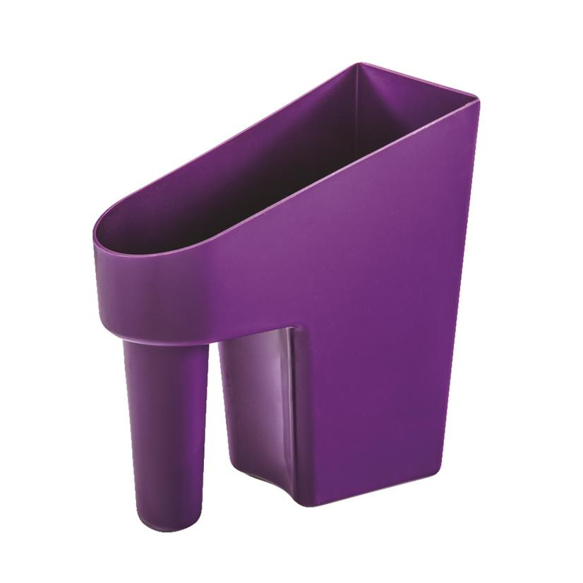 Feed Scoop 1 Quart Assorted Colors PURPLE