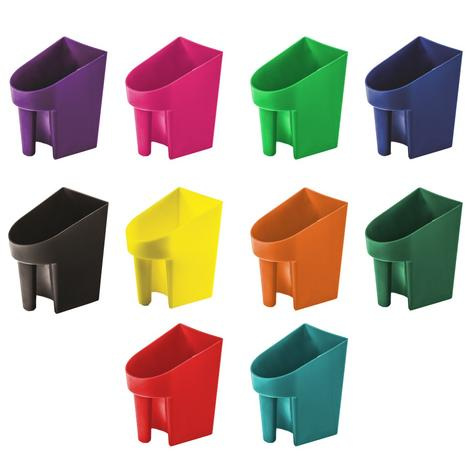 Feed Scoop 2 Quart Assorted Colors