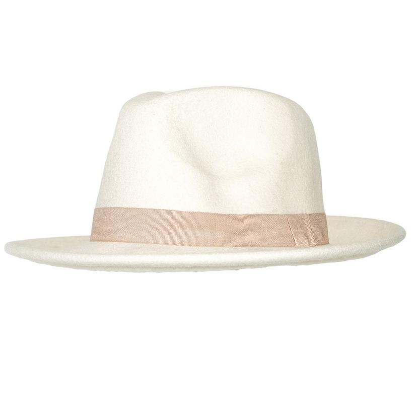 STT Wild Bill Felt Hat - White and Cream 2db1d1eb517