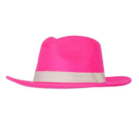STT Wild Bill Felt Hat - Magenta