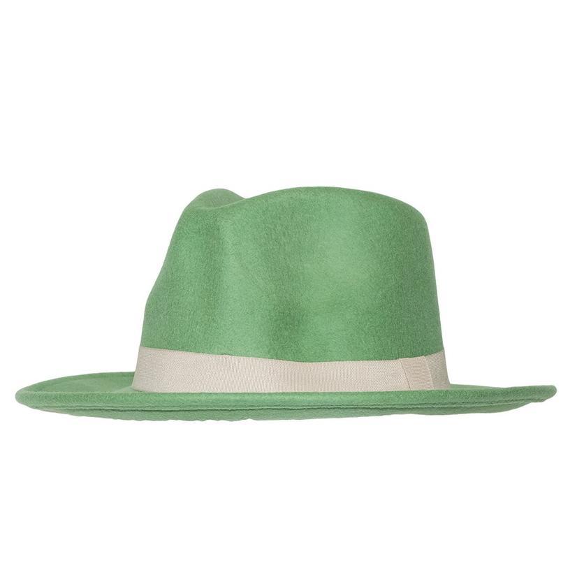 Stt Wild Bill Felt Hat - Turquoise