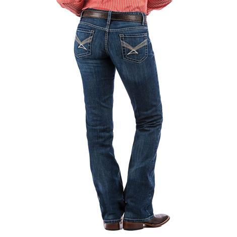 Cinch Ada Mid Rise Relaxed Bootcut Women's Jeans