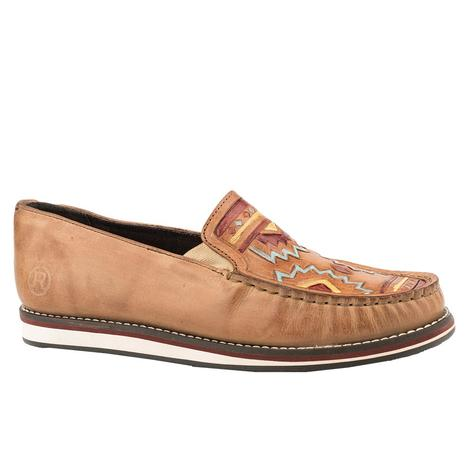 Roper Aztec Tooled Women's Moc