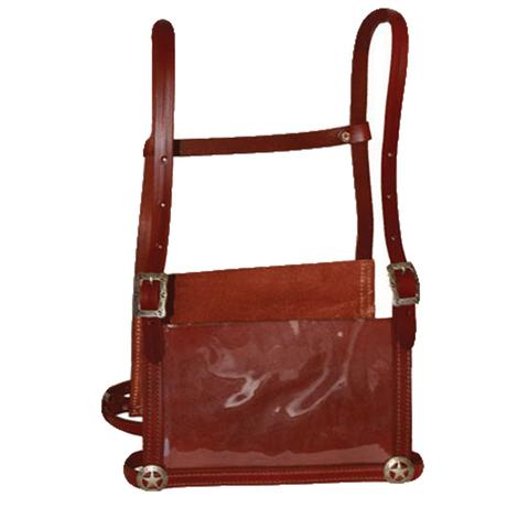 Sullivan's Leather Exhibitor Harness - Brown Medium to Large