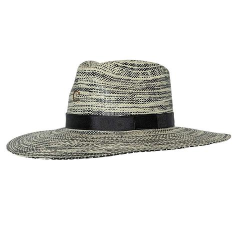 Charlie 1 Horse Hawaii Ya Natural and Black Straw Hat