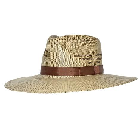 Charlie 1 Horse Mexico Shore Natural Straw Hat
