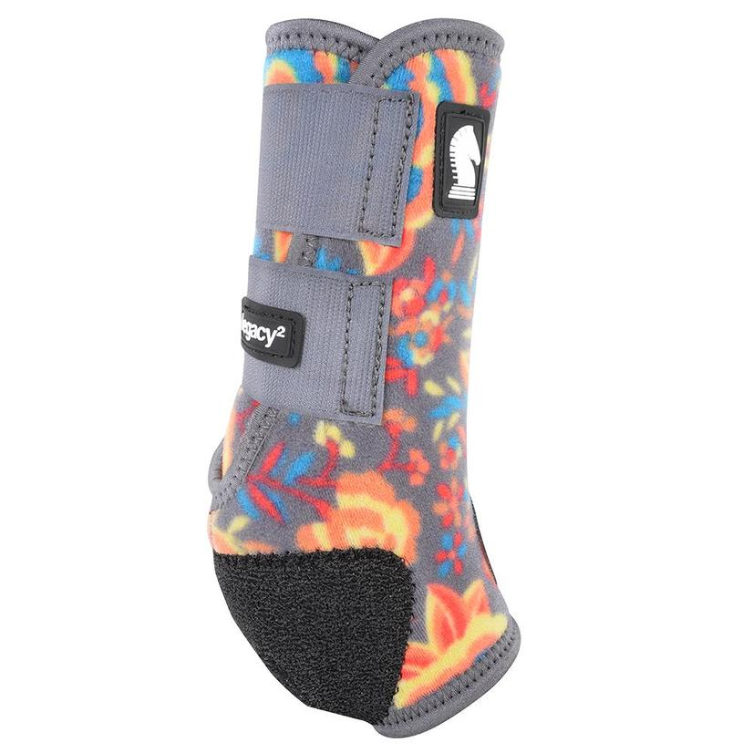Classic Equine Legacy2 Front Protective Sport Boots - Wildflower