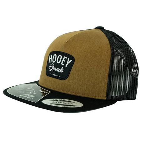 Hooey Hometown Brown Black Meshback Cap