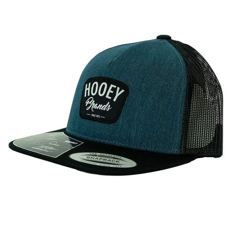 Hooey Hometown Navy Black Meshback Cap