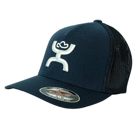 Hooey Navy Coach Mid Profile Meshback Cap