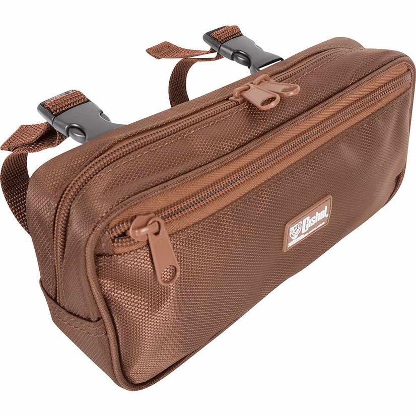 Cashel Small Pommel Bag - Brown or Black BROWN