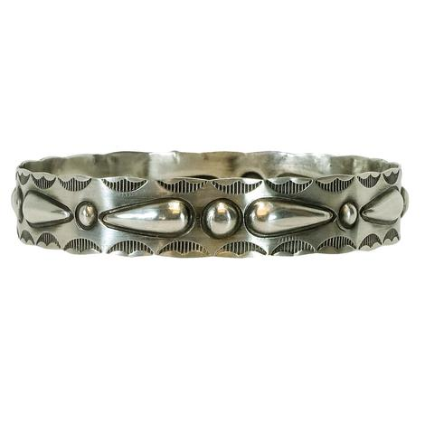 The Taos Sterling Silver Bangle